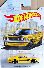'69 Ford Mustang Boss 302 Detroit Muscle Car 3/6 1:64 Hot Wheels FYY10 GDG44