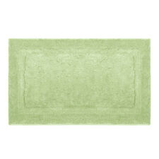 5pc Bathroom Accessories Set Green Soap Dispenser Bath Towel Mat Shower Curtain