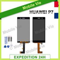 VITRE TACTILE + ECRAN LCD PRET-A-MONTER POUR HUAWEI P7 NOIR + FILM + OUTILS