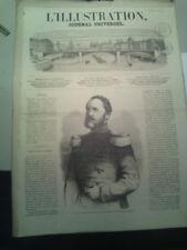 L'illustration n°1086 19 déc 1863 prince augustenbourg birmanieconfédérés usa