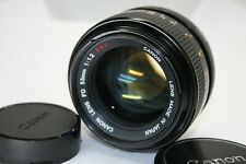 AS-IS Canon FD 55mm f/1.2 S.S.C MF Lens SSC FD Mount from Japan #1884.0810.9484