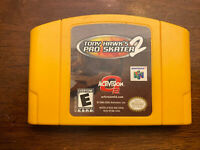Tony Hawk's Pro Skater 2 (Nintendo 64 N64, 2001) Game Only Authentic