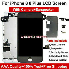 For iPhone 8 /8 Plus LCD Screen Touch Display Digitizer +Camera Full Replacement