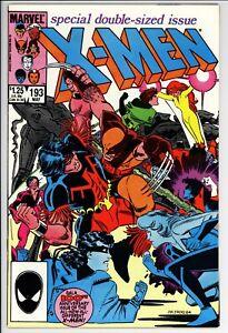 Uncanny X-Men #193 VF Marvel (1985) -1st Appearance Of Firestar In X-Men
