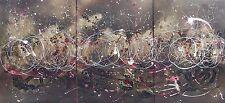 "Magnífico Original Rachel McCullock ""Luna Pintura Abstracta Moderna Wave"""