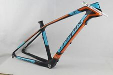 T800 Carbon mtb frame 26er painted orange 17inch Mountain Bike Frame Disc Brake