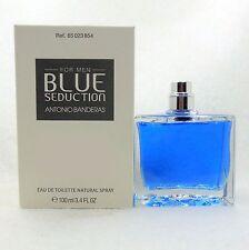 BLUE SEDUCTION FOR MEN ANTONIO BANDERAS EAU DE TOILETTE SPRAY 100 ML/3.4FL.OZ(T)