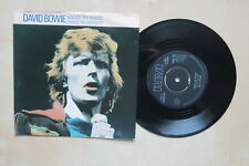 "DAVID BOWIE Knock On Wood / Panic In Detroit UK 7"" in picture sleeve Lifetimes"