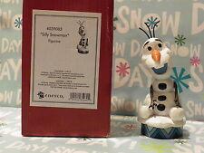 Jim Shore Frozen Olaf Silly Snowman Figurine Disney Traditions Showcase Nib
