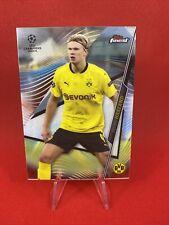 Erling Haaland Topps Finest 2020-21 #24 Champions League Dortmund BVB