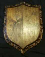 """3D Ornate Taxidermy Head Mounting Plaque Measures 18 1/2"""" X 13"""""""