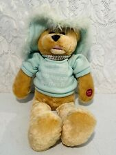 "Chantilly Lane Musical Green Bear 20"" Singing ""That's What Friends Are For"""