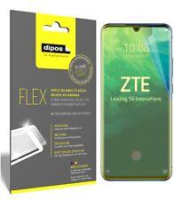 3x ZTE Axon 10 Pro 5G Schutzfolie Folie, 100% Displayabdeckung, dipos Flex