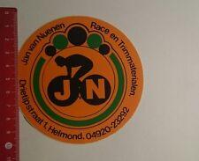 Aufkleber/Sticker: Jan van Nuenen Race en Trimmaterialen (09121688)