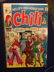 Chili Millie's Red-Headed Rival #5 FN 1969 DC