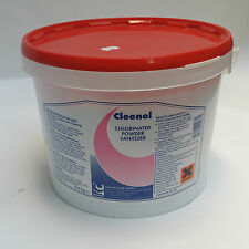 Chlorinated Powder Sanitiser 12.5Kg For Food Preperation Surfaces & Cleaning