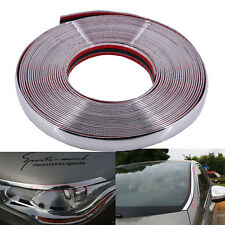 42 Feet Car Moulding Stripe Trim Chrome Silver 30MM interior exterior Decorative