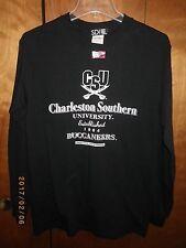 Charleston Southern University Buccaneers College Long Sleeve Shirt Small Black
