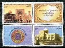 Uzbekistan 2018 Abdukhalik Gijduvani Mausoleums 2v Set Architecture Stamps