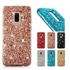 For Samsung Galaxy S9 Note 8 A50s J8 A7 Luxury Bling Glitter Rubber Case Cover