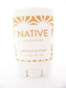 Native Limited Edition Holiday Vanilla & Chai Mini Travel Deodorant - 0.35 oz.