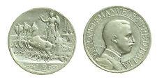 pci2426) Vittorio Emanuele III (1900-1943) - 2 Lire 1908 Quadriga Veloce