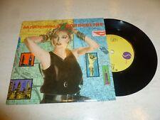"""Madonna-Borderline - 1983 Reino Unido Amarillo Sire 2-track 7"""" SINGLE VINILO"""