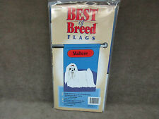 "Best Of Breed Maltese Flag NOS Denier Nylon 28"" X 40"""