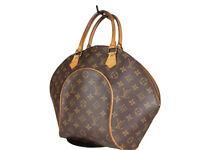 LOUIS VUITTON Ellipse MM Monogram Canvas Leather Hand Bag LH3867