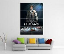 STEVE MCQUEEN LE MANS GIANT WALL ART PHOTO PRINT POSTER