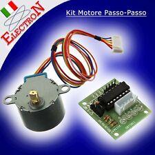 Kit Motore Passo-Passo Stepper 5V + riduttore +ULN2003 Driver Board xArduino Pic