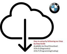 2017 BMW INPA ista D + ista P paisajista Rheingold Ediabas K + DCAN software de diagnóstico