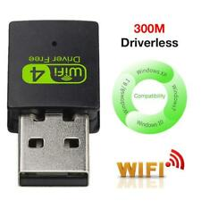 300M USB Wireless WiFi Network Receiver Card Adapter For Windows /Linux/MAC OS
