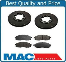 2000-2004 Xterra Disc Brake Rotors & Ceramic Pads