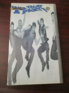 Take That and Party  VHS Video Tape  (NEW)