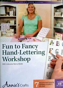 Fun To Fancy Hand-Lettering Workshop  DVD