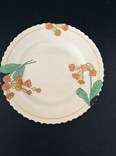 "Burleigh Ware Zenith Shape Small 7"" Bread Salad Side Plate Meadowland Pattern"