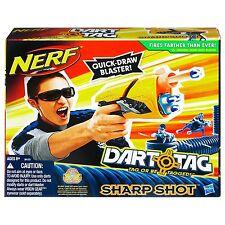 Brand New NERF N-Strike SHARP SHOT Dart BLASTER Dart Tag