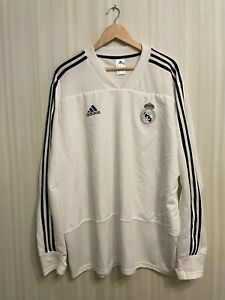 5+/5 Real Madrid 2018/2019 training top Size 2XL Adidas sweatshirt jersey XXL