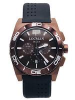 Orologio Locman Stealth Mare 212BK/595 Crono Gomma/Titanio Scontatissimo Nuovo