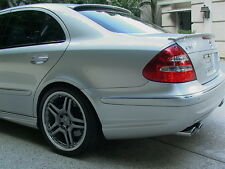 ABS REAR TRUNK DECK SPOILER WING - MERCEDES BENZ W211 E320 E350 E550 E55 E63