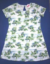 FRESH PRODUCE 1X White Off Shore TROPICAL SYDNEY Key Hole Dress NWT New 1X
