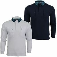 Mens Polo Shirt by Voi Jeans 'Rory' Long Sleeved