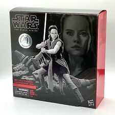"Star Wars REY (JEDI TRAINING) 6"" Black Series Toys-R-Us EXCLUSIVE Action Figure"
