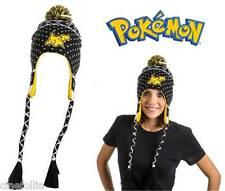 Berretta Pokemon Pikachu black Laplander Beanie Winter Hat cappello ufficiale
