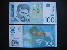 SERBIA  100 Dinara 2006  (P49a)  UNC