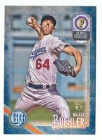 WALKER BUEHLER RC 2018 TOPPS GYPSY QUEEN INDIGO PARALLEL ROOKIE #128/250 DODGERS