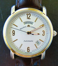 Maurice Lacroix PONTOS Steel/Gold 18K 750 Day & Date automatic men's watch 09777