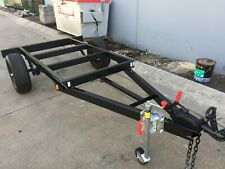 Brand new Tray top Trailer chassis SUIT  8X6FT TRAY BRAKED HEAVY DUTY 1000KG ATM