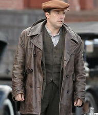 Ben Affleck Coat Brown Real Leather Jacket/Coat